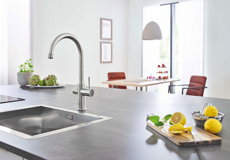 01-Cutting-edge technology for kitchens and bathrooms from Grohe