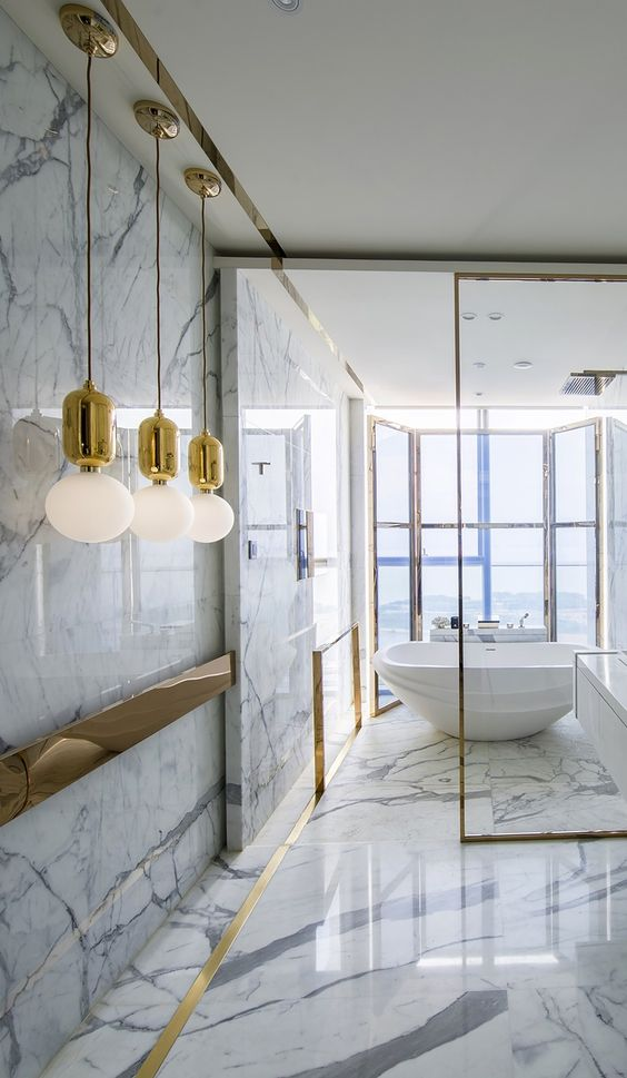 01-Inspiring You With Marble Bathrooms
