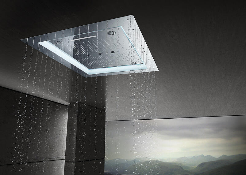 02-Enjoy technological innovation and luxury design with AquaSymphony showering from GROHE
