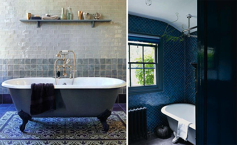 how to use dulux colour of the year in your bathroom