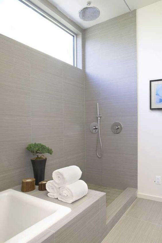 02-The Latest Bathroom Tile Grout Trends