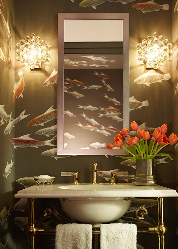 03-Inspiring You with Wallpapered Bathrooms