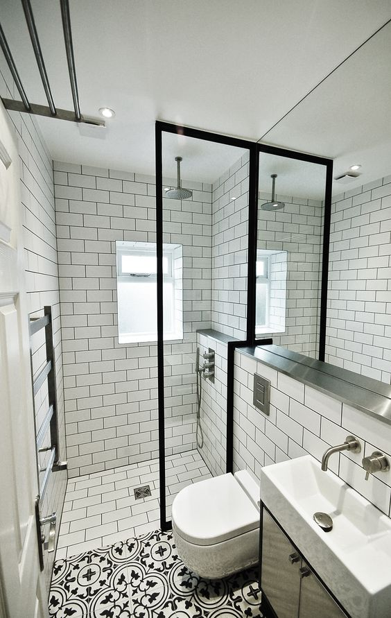 03-The Latest Bathroom Tile Grout Trends