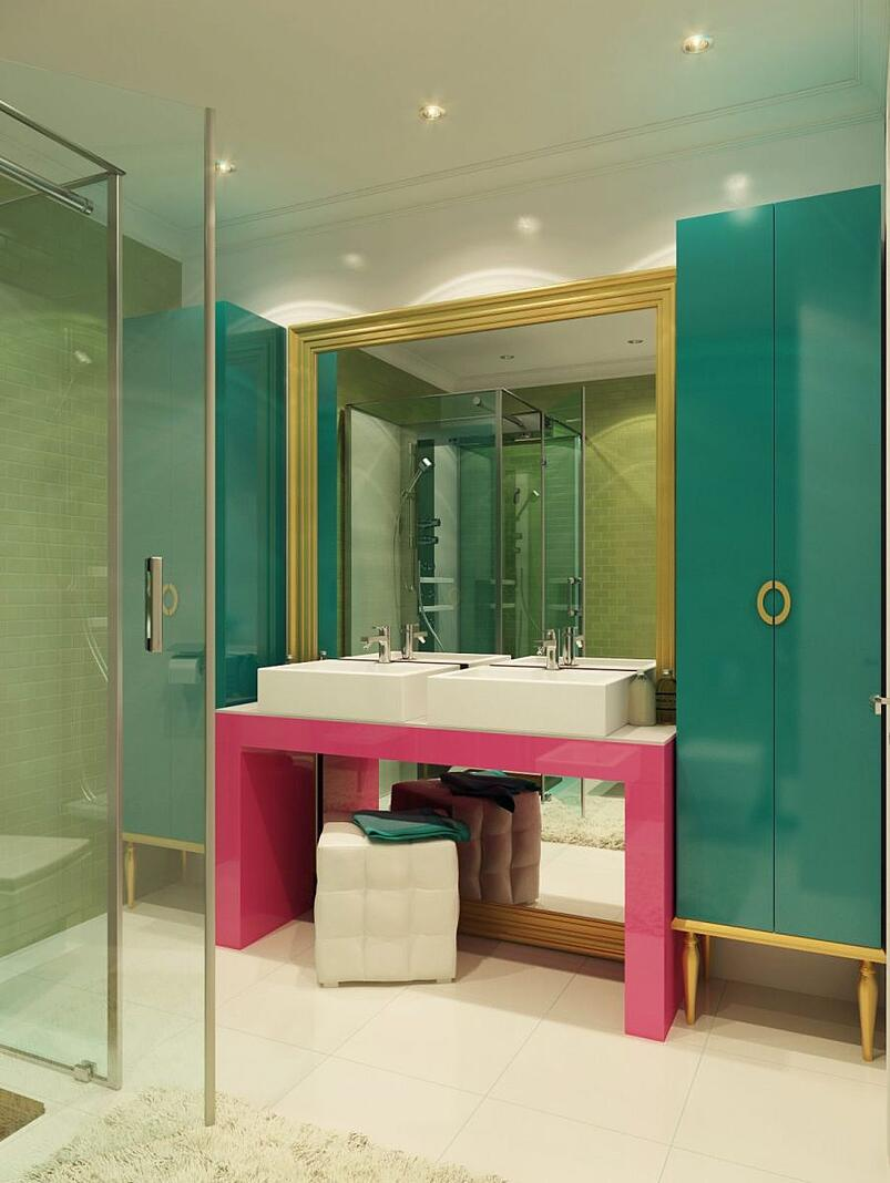 05-Adding Colour in Your Bathroom(1)