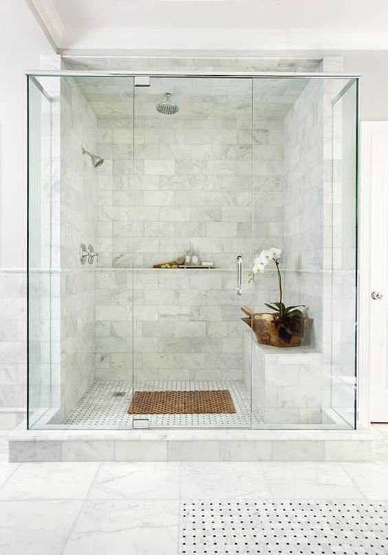06-Inspiring You With Marble Bathrooms