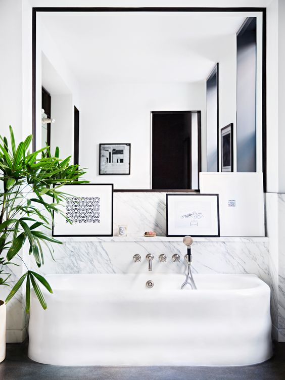 07-Inspiring You With Marble Bathrooms