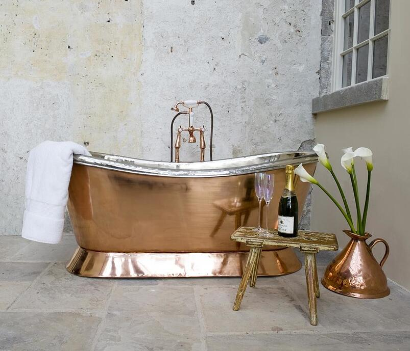08-Inspiring You with On-Trend Copper in the Bathroom