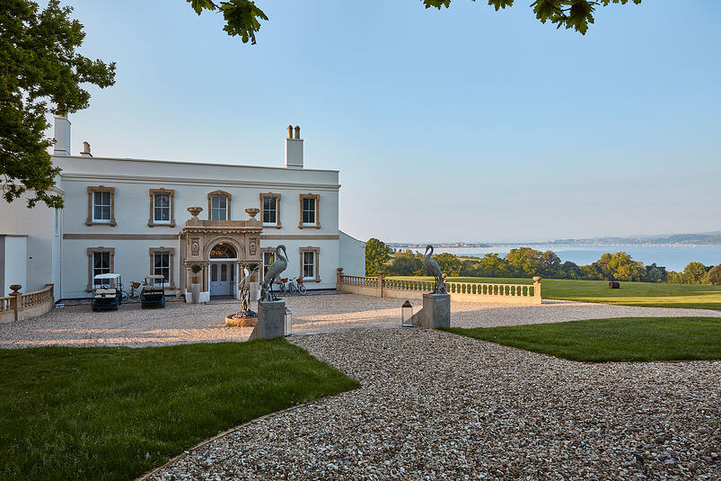 1-Lympstone Manor perfection achieved with St James Collection