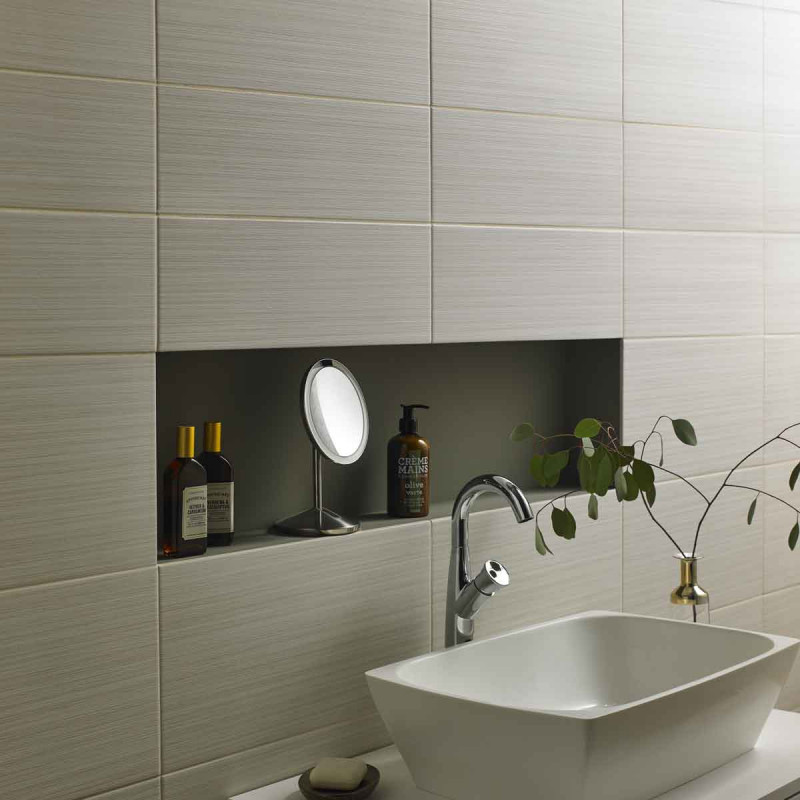 2-Small bathroom tile ideas to maximise any space