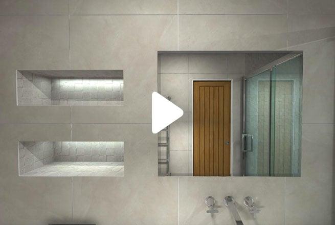 Beige Modern Bathroom