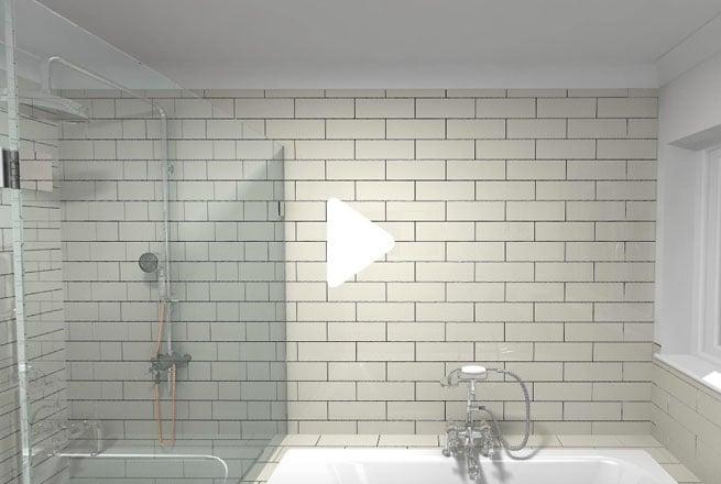 Beige Traditional Bathroom