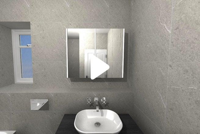 Grey-Modern-Bathroom
