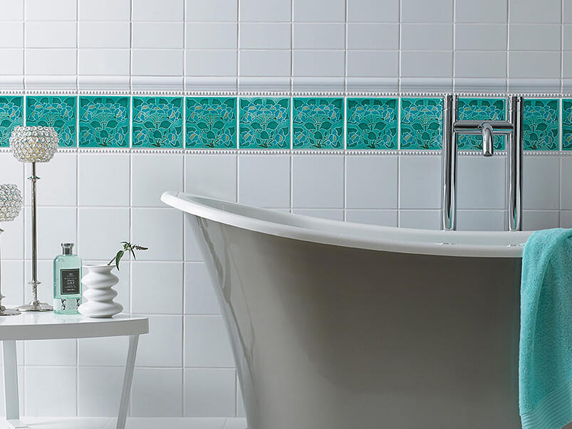How tiles and mosaics can completely change the look of your bathroom 18