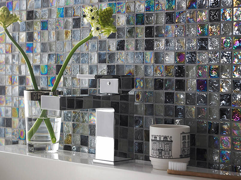 How tiles and mosaics can completely change the look of your bathroom 25