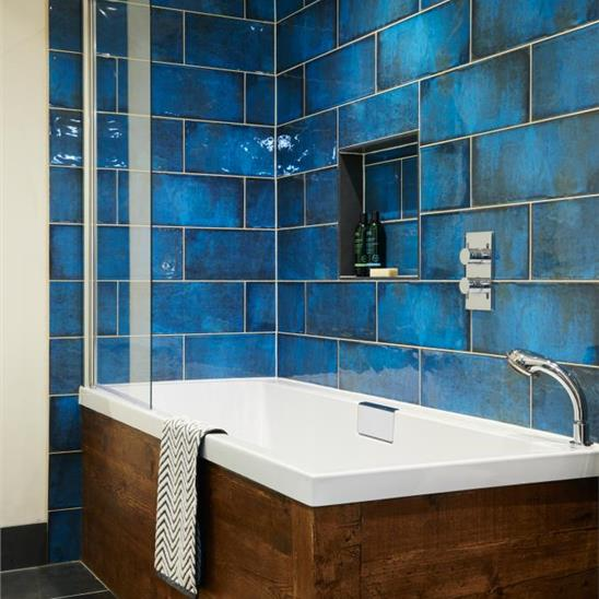 How tiles and mosaics can completely change the look of your bathroom 29