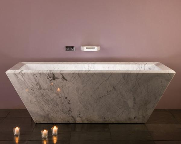 How to complete your bathroom with stone elements 1
