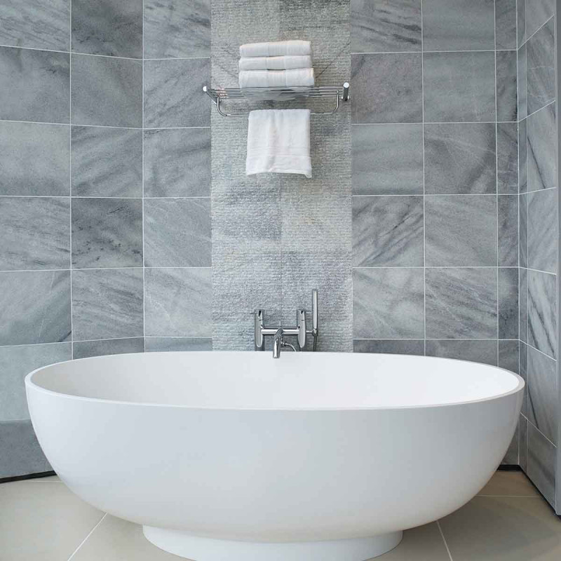 How to complete your bathroom with stone elements 16