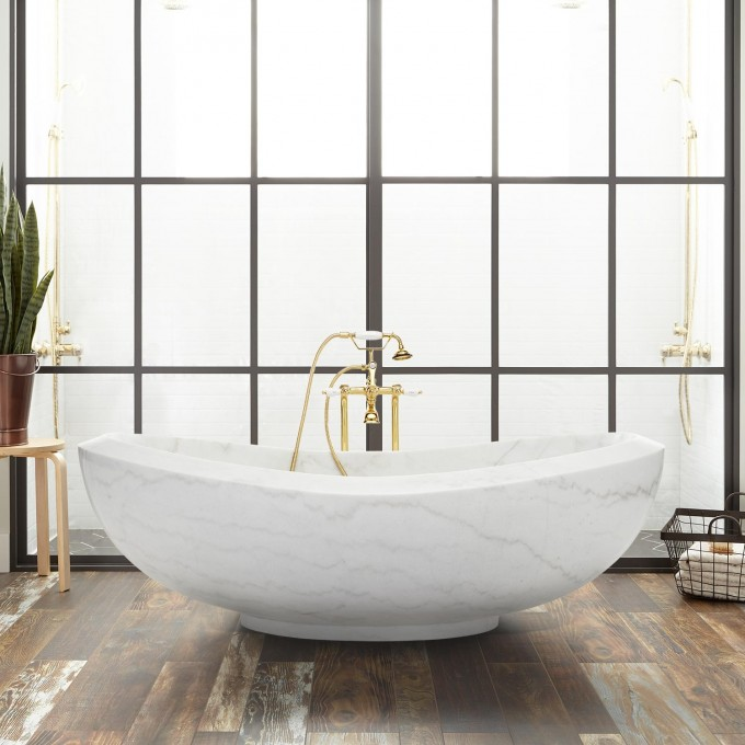 How to complete your bathroom with stone elements 3