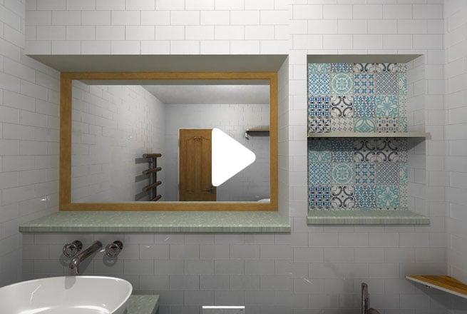 Moroccan Bathroom