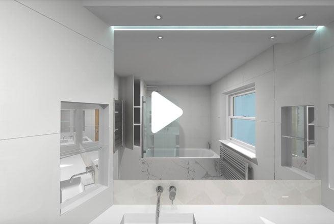 White-&-Marble-Bathroom